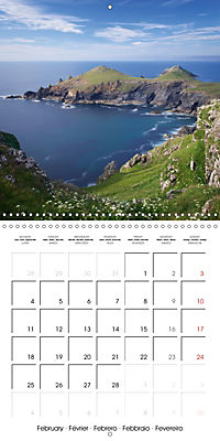 Beautiful Cornish Seascapes (Wall Calendar 2019 300 × 300 mm Square) - Produktdetailbild 2