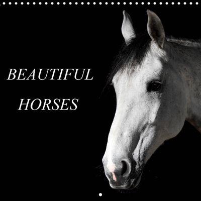 BEAUTIFUL HORSES (Wall Calendar 2019 300 × 300 mm Square), Nell Jones