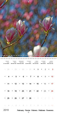 Beautiful Magnolia (Wall Calendar 2019 300 × 300 mm Square) - Produktdetailbild 2