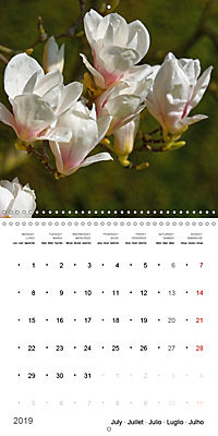 Beautiful Magnolia (Wall Calendar 2019 300 × 300 mm Square) - Produktdetailbild 7