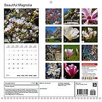 Beautiful Magnolia (Wall Calendar 2019 300 × 300 mm Square) - Produktdetailbild 13