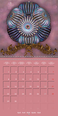 Beautiful Objects (Wall Calendar 2019 300 × 300 mm Square) - Produktdetailbild 4