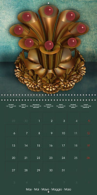 Beautiful Objects (Wall Calendar 2019 300 × 300 mm Square) - Produktdetailbild 5