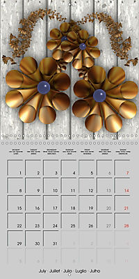 Beautiful Objects (Wall Calendar 2019 300 × 300 mm Square) - Produktdetailbild 7