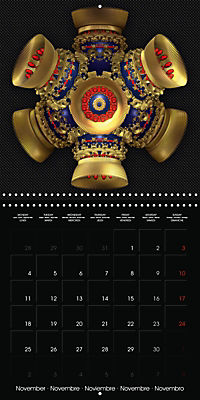 Beautiful Objects (Wall Calendar 2019 300 × 300 mm Square) - Produktdetailbild 11