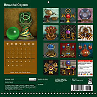 Beautiful Objects (Wall Calendar 2019 300 × 300 mm Square) - Produktdetailbild 13