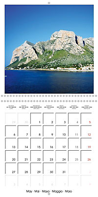 Beautiful Sicily (Wall Calendar 2019 300 × 300 mm Square) - Produktdetailbild 5