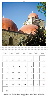 Beautiful Sicily (Wall Calendar 2019 300 × 300 mm Square) - Produktdetailbild 9