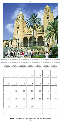 Beautiful Sicily (Wall Calendar 2019 300 × 300 mm Square) - Produktdetailbild 2