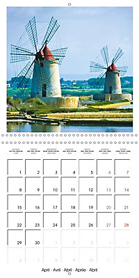 Beautiful Sicily (Wall Calendar 2019 300 × 300 mm Square) - Produktdetailbild 4