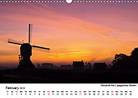 Beautiful windmills in the Netherlands (Wall Calendar 2019 DIN A3 Landscape) - Produktdetailbild 2