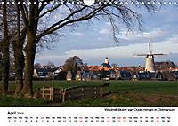 Beautiful windmills in the Netherlands (Wall Calendar 2019 DIN A4 Landscape) - Produktdetailbild 4