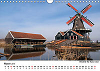Beautiful windmills in the Netherlands (Wall Calendar 2019 DIN A4 Landscape) - Produktdetailbild 3