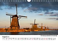 Beautiful windmills in the Netherlands (Wall Calendar 2019 DIN A4 Landscape) - Produktdetailbild 8
