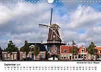 Beautiful windmills in the Netherlands (Wall Calendar 2019 DIN A4 Landscape) - Produktdetailbild 9