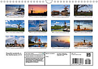 Beautiful windmills in the Netherlands (Wall Calendar 2019 DIN A4 Landscape) - Produktdetailbild 13