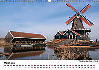Beautiful windmills in the Netherlands (Wall Calendar 2019 DIN A3 Landscape) - Produktdetailbild 3