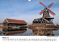 Beautiful windmills in the Netherlands (Wall Calendar 2019 DIN A3 Landscape) - Produktdetailbild 3