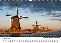 Beautiful windmills in the Netherlands (Wall Calendar 2019 DIN A3 Landscape) - Produktdetailbild 8