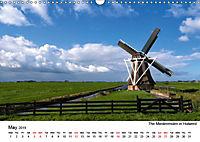 Beautiful windmills in the Netherlands (Wall Calendar 2019 DIN A3 Landscape) - Produktdetailbild 5