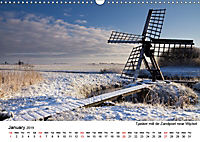 Beautiful windmills in the Netherlands (Wall Calendar 2019 DIN A3 Landscape) - Produktdetailbild 1