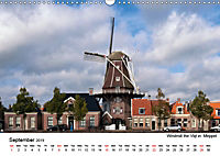 Beautiful windmills in the Netherlands (Wall Calendar 2019 DIN A3 Landscape) - Produktdetailbild 9
