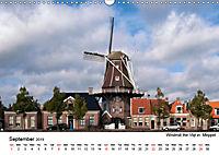Beautiful windmills in the Netherlands (Wall Calendar 2019 DIN A3 Landscape) - Produktdetailbild 9