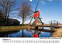 Beautiful windmills in the Netherlands (Wall Calendar 2019 DIN A3 Landscape) - Produktdetailbild 10