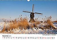 Beautiful windmills in the Netherlands (Wall Calendar 2019 DIN A3 Landscape) - Produktdetailbild 12