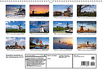 Beautiful windmills in the Netherlands (Wall Calendar 2019 DIN A3 Landscape) - Produktdetailbild 13