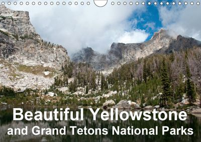Beautiful Yellowstone and Grand Tetons National Parks (Wall Calendar 2019 DIN A4 Landscape), Borg Enders