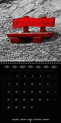 Beauty in Red (Wall Calendar 2019 300 × 300 mm Square) - Produktdetailbild 1