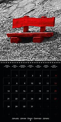 Beauty in Red (Wall Calendar 2019 300 × 300 mm Square) - Produktdetailbild 1