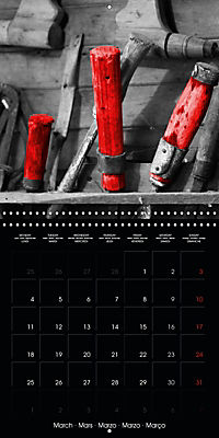 Beauty in Red (Wall Calendar 2019 300 × 300 mm Square) - Produktdetailbild 3