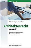 Beck-Rechtsberater im dtv: Architektenrecht von A-Z