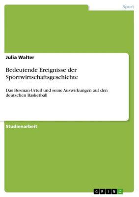 Bedeutende Ereignisse der Sportwirtschaftsgeschichte, Julia Walter