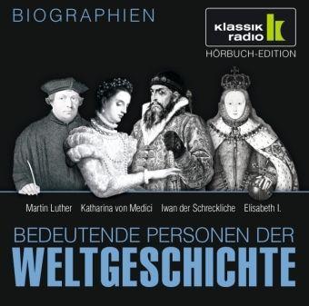 Bedeutende Personen der Weltgeschichte, je 1 Audio-CD ...