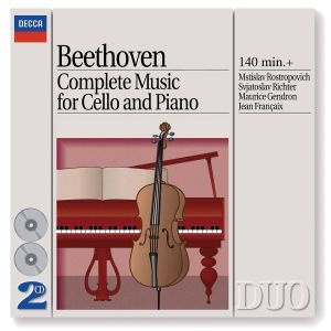 Beethoven: Complete Music for Cello and Piano, Mstislav Rostropowitsch, Svjatoslav Richter