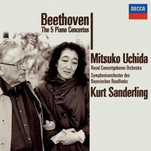 Beethoven: Complete Piano Concertos, Mitsuko Uchida, Kurt Sanderling, Ogb, Sobr