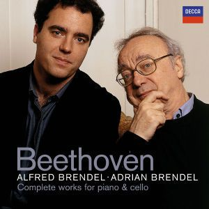 Beethoven: Complete Works for Piano & Cello, Alfred Brendel, Adrian Brendel