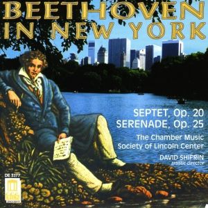 Beethoven In New York, Chamber Music Society Of Lincoln Center