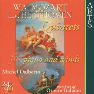Beethoven: Klavierquintett op. 16 Es-dur / Mozart: Klavierquintett KV 452 Es-dur, Members Of Otetto Italiano, Dal