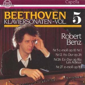 Beethoven: Klaviersonaten 5, Robert Benz