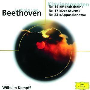 Beethoven: Klaviersonaten No.14 Mondschein & No.17 Der Sturm & No.23 Appassionata, Wilhelm Kempff