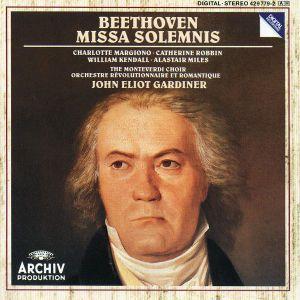 Beethoven: Missa Solemnis, John Eliot Gardiner, Ebs, Monteverdi Choir