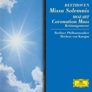 Beethoven: Missa Solemnis / Mozart: Coronation Mass, Janowitz, Ludwig, Wunderlich, Berry, Karajan, Bp