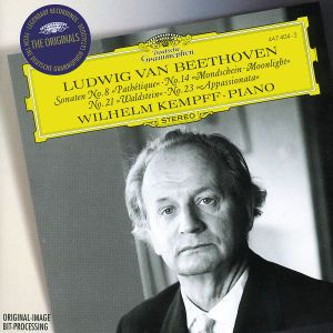 Beethoven: Piano Sonatas Nos.8, 14, 21 & 22, Wilhelm Kempff