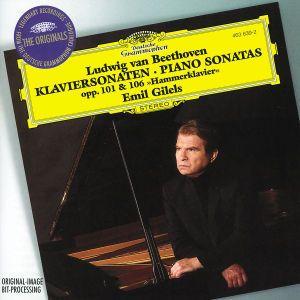 Beethoven: Piano Sonatas Opp. 101 & 106 Hammerklavier, Emil Gilels