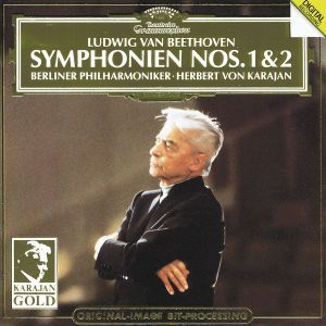 Beethoven: Symphonies Nos.1 & 2, Herbert von Karajan, Bp