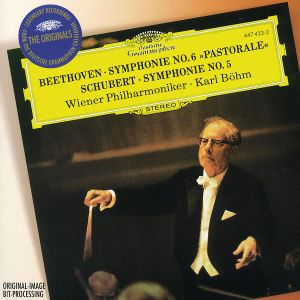 Beethoven: Symphony No.6 Pastoral / Schubert: Symphony No.5, Karl Böhm, Wp